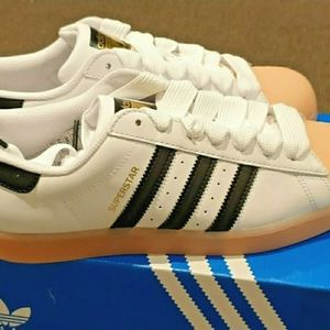 Adidas Superstar women's Leather Sneakers Shoes